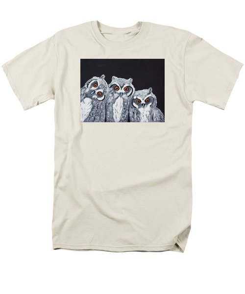 Wee Owls Men's T-Shirt  (Regular Fit) by Scott Wilmot