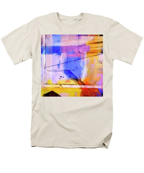 Men's T-Shirt  (Regular Fit) featuring the painting Welder by Dominic Piperata
