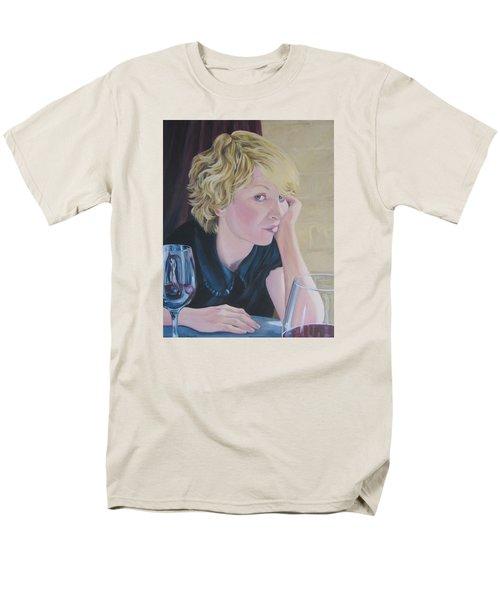 Well Men's T-Shirt  (Regular Fit) by Connie Schaertl