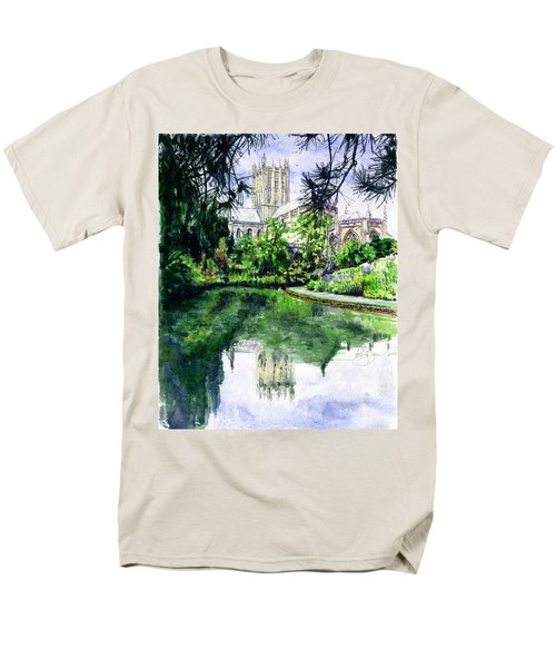 Wells Cathedral Men's T-Shirt  (Regular Fit) by John D Benson