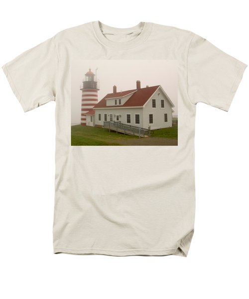 West Quoddy In Fog Men's T-Shirt  (Regular Fit) by Brent L Ander