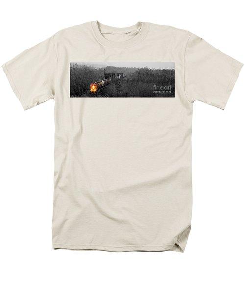 Westbound Grain Men's T-Shirt  (Regular Fit) by Brad Allen Fine Art