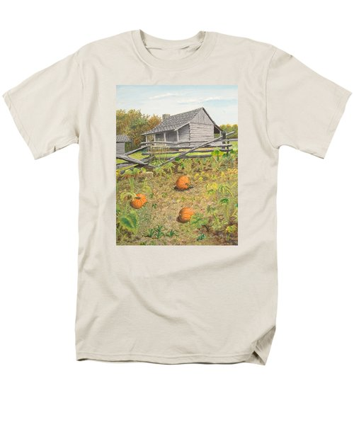 What's Left Of The Old Homestead Men's T-Shirt  (Regular Fit) by Norm Starks