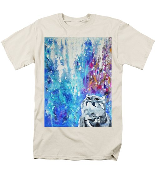 What's Up? Men's T-Shirt  (Regular Fit) by Betty M M Wong