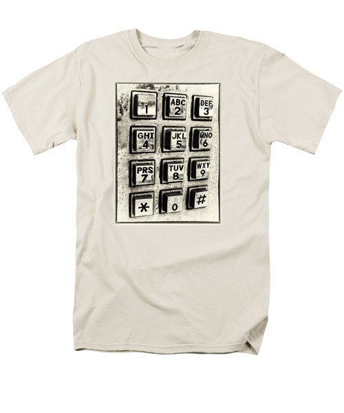 What's Your Number? Men's T-Shirt  (Regular Fit) by Caitlyn  Grasso