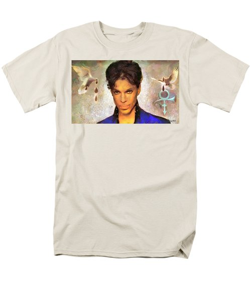 When Doves Cry Men's T-Shirt  (Regular Fit)