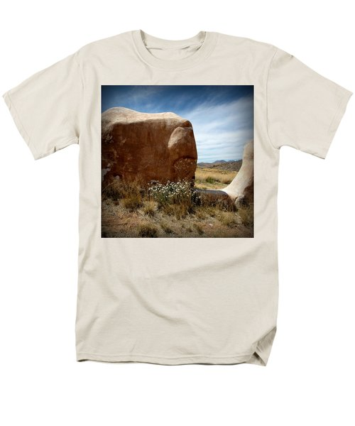 Men's T-Shirt  (Regular Fit) featuring the photograph Where Have All The Flowers Gone by Joe Kozlowski
