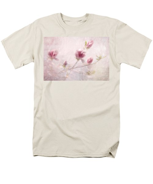 Men's T-Shirt  (Regular Fit) featuring the photograph Whisper Of Spring by Annie Snel