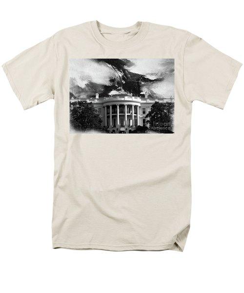White House 002 Men's T-Shirt  (Regular Fit) by Gull G