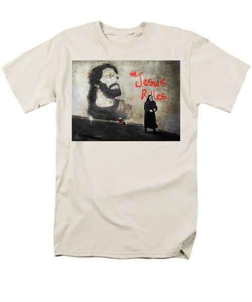 Who Knew Men's T-Shirt  (Regular Fit) by Pennie  McCracken