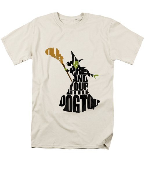 Wicked Witch Of The West Men's T-Shirt  (Regular Fit) by Ayse Deniz