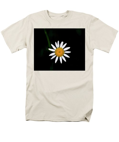 Men's T-Shirt  (Regular Fit) featuring the digital art Wild Daisy by Chris Flees