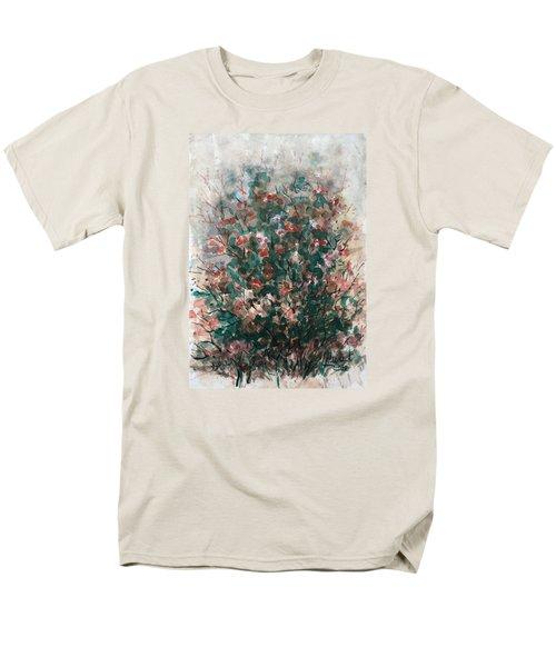 Wild Flowers Men's T-Shirt  (Regular Fit) by Laila Awad Jamaleldin