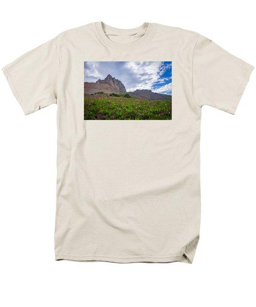 Wildflowers In The Grand Tetons Men's T-Shirt  (Regular Fit) by Serge Skiba