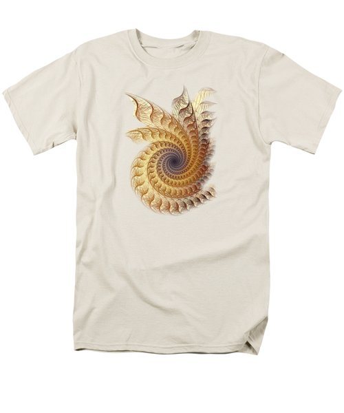Men's T-Shirt  (Regular Fit) featuring the digital art Winding by Anastasiya Malakhova