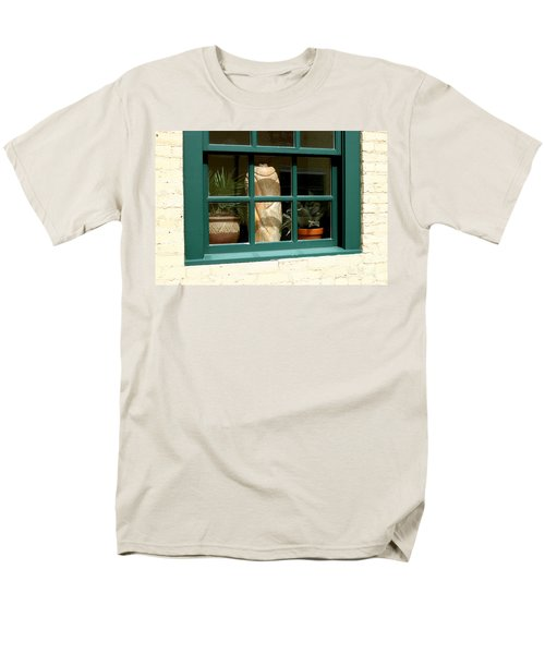 Window At Sanders Resturant Men's T-Shirt  (Regular Fit) by Steve Augustin