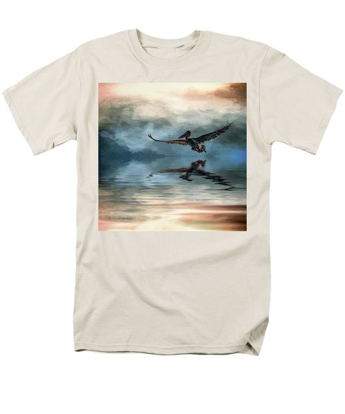 Wings Up Men's T-Shirt  (Regular Fit) by Cyndy Doty