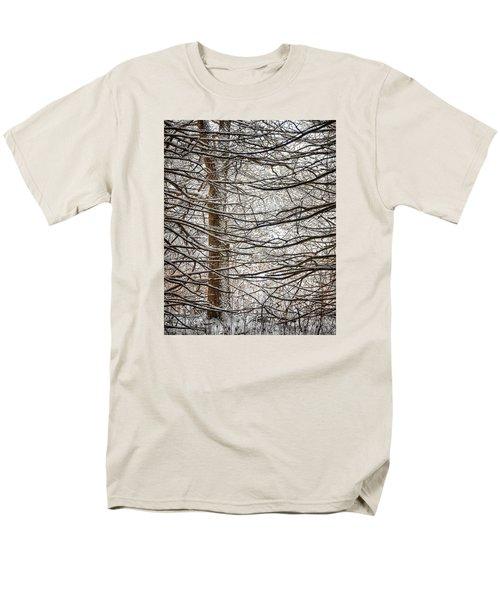 Winter In The Woods Men's T-Shirt  (Regular Fit)