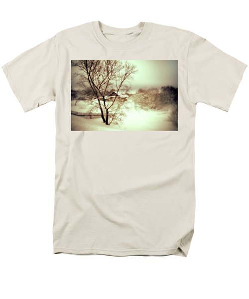 Winter Loneliness Men's T-Shirt  (Regular Fit) by Jenny Rainbow