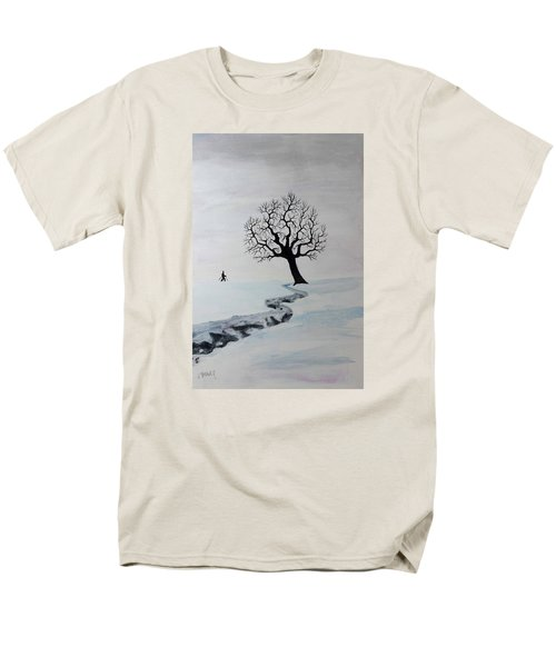 Winter Trek Men's T-Shirt  (Regular Fit) by Jack G Brauer