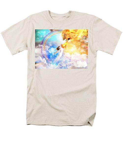 Words Like Fire Men's T-Shirt  (Regular Fit) by Dolores Develde