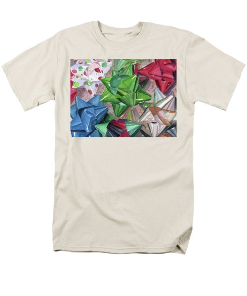 Men's T-Shirt  (Regular Fit) featuring the painting Wrap It Up by Lynne Reichhart