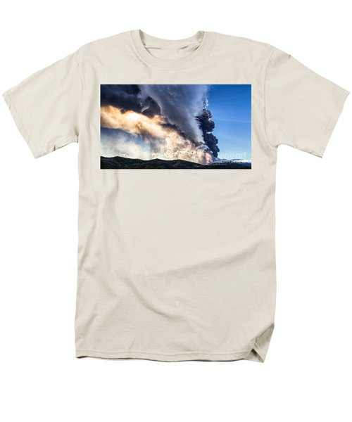 Wrath Of Nature Men's T-Shirt  (Regular Fit) by Giuseppe Torre