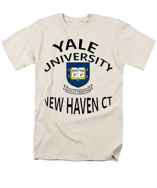 Yale University New Haven Connecticut  Men's T-Shirt  (Regular Fit)
