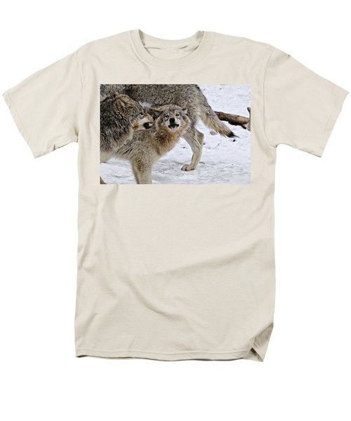 Men's T-Shirt  (Regular Fit) featuring the photograph Yes Dear by Michael Cummings