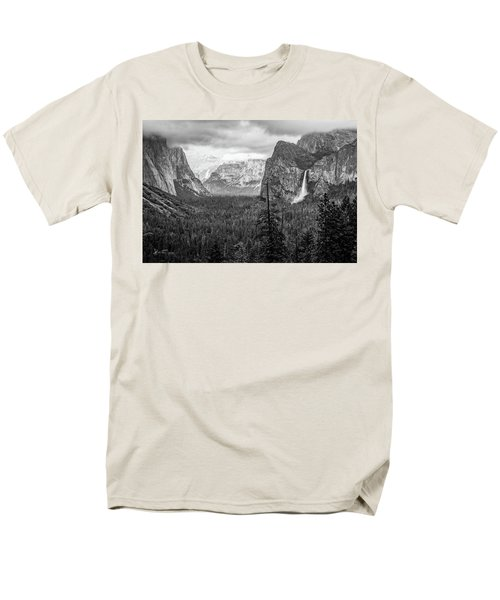 Yosemite View 38 Men's T-Shirt  (Regular Fit) by Ryan Weddle