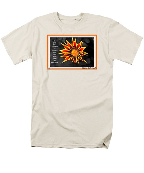 Men's T-Shirt  (Regular Fit) featuring the digital art You Are Not Worthless by Holley Jacobs