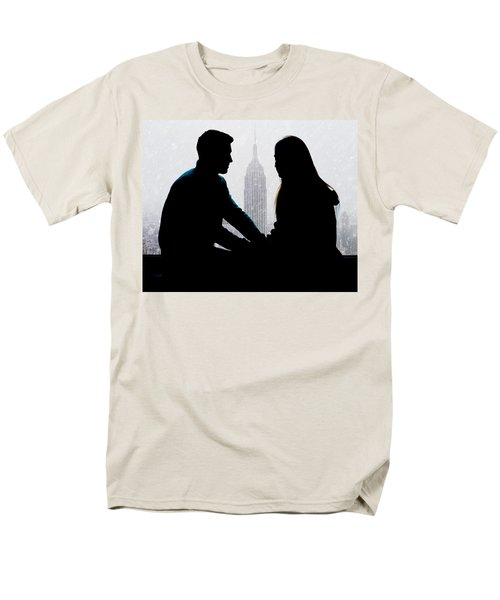 Men's T-Shirt  (Regular Fit) featuring the photograph Young Love     by Chris Lord