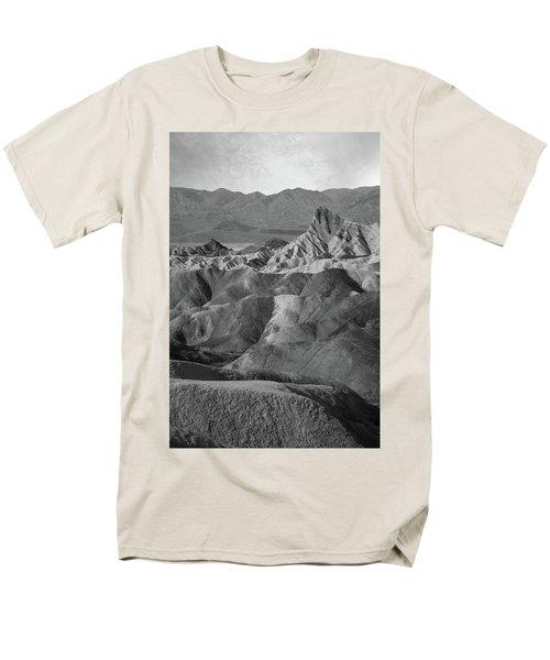 Zabriskie Point Portrait Men's T-Shirt  (Regular Fit) by Marius Sipa