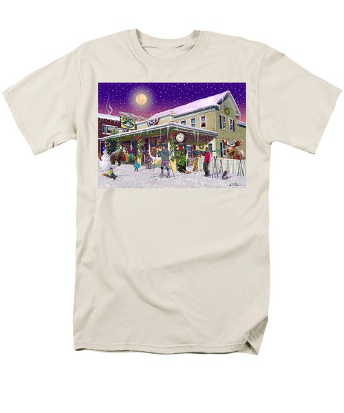 Zebs General Store In North Conway New Hampshire Men's T-Shirt  (Regular Fit) by Nancy Griswold