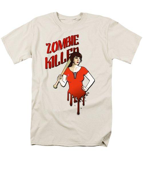 Zombie Killer Men's T-Shirt  (Regular Fit) by Nicklas Gustafsson