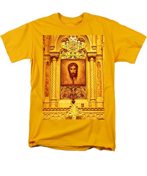 St. Patrick Nyc  Altar Men's T-Shirt  (Regular Fit) by Joan Reese