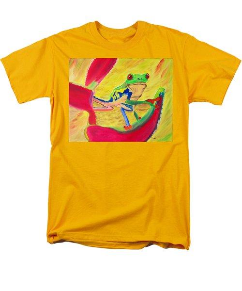 Rainforest Melody Men's T-Shirt  (Regular Fit) by Meryl Goudey