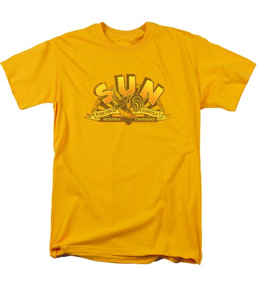 Sun - Rockin Rooster Logo Men's T-Shirt  (Regular Fit) by Brand A