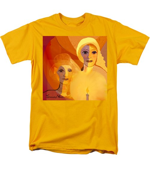 1196 - Candle Of Our Life .. Men's T-Shirt  (Regular Fit) by Irmgard Schoendorf Welch