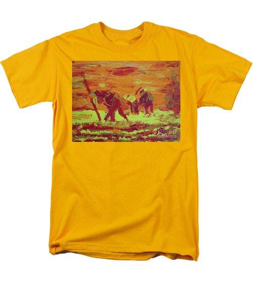 Hot Potatoes Men's T-Shirt  (Regular Fit) by Linda Simon