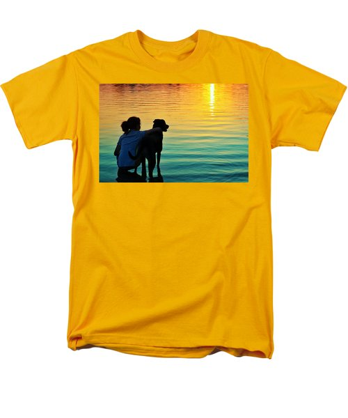 Island Men's T-Shirt  (Regular Fit) by Laura Fasulo