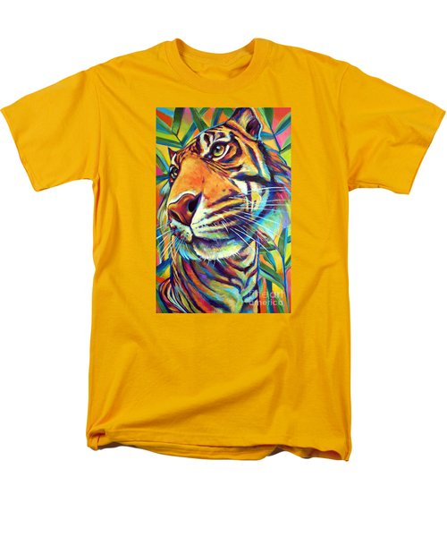 Men's T-Shirt  (Regular Fit) featuring the painting Le Tigre by Robert Phelps