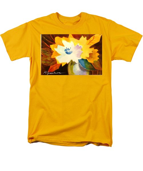 Abstract Flowers 2 Men's T-Shirt  (Regular Fit) by Marilyn Jacobson