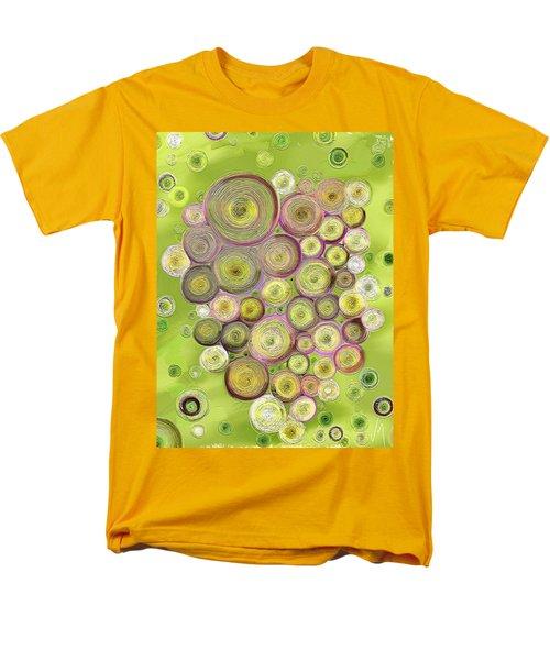 Abstract Grapes Men's T-Shirt  (Regular Fit) by Veronica Minozzi