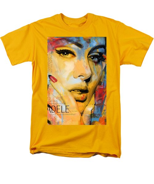 Adele Men's T-Shirt  (Regular Fit) by Corporate Art Task Force