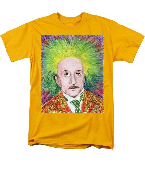Albert Einstein Men's T-Shirt  (Regular Fit) by Yoshiko Mishina