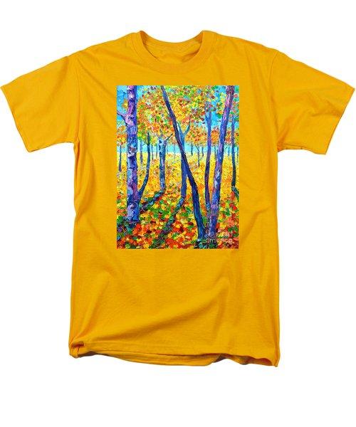 Autumn Colors Men's T-Shirt  (Regular Fit) by Ana Maria Edulescu