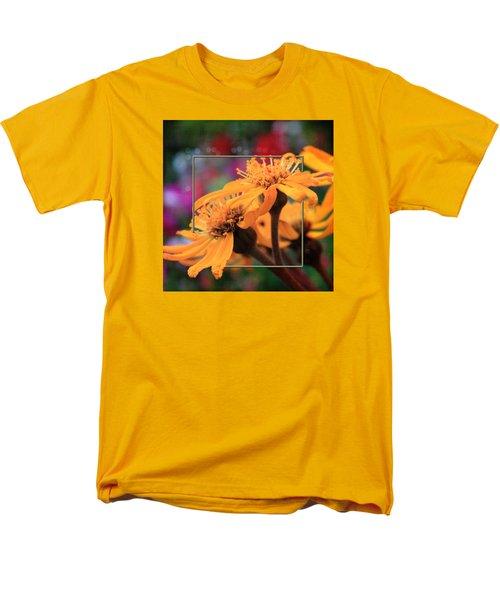 Men's T-Shirt  (Regular Fit) featuring the photograph Autumn's Glory by Sandra Foster