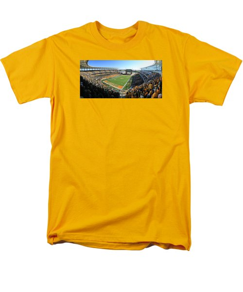 Baylor Gameday No 5 Men's T-Shirt  (Regular Fit) by Stephen Stookey