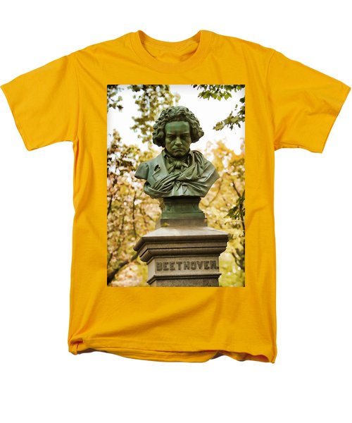 Beethoven In Central Park Men's T-Shirt  (Regular Fit) by Alice Gipson